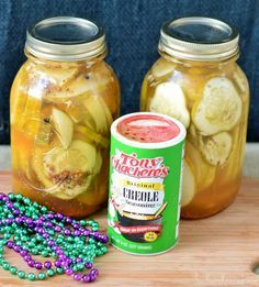How to Make & Can Cajun Dill Pickles _ One of my favorites! They are really easy to do in a water bath & the recipe is quite simple. You will have homemade, spicy pickles for the coming winter!