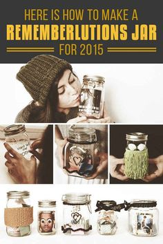 Here's What You Should Do Instead Of Making New Year's Resolutions: Rememberlutions. Such a nice idea!
