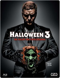 Halloween 3 Blu-Ray - uncut - limited Edition 3D steelcase Region B: Amazon.co.uk: Tom Atkins, Stacey Nelkin, Dan O'Herlihy, Ralph Strait, Nancy Loomis, Tommy Lee Wallace: DVD & Blu-ray