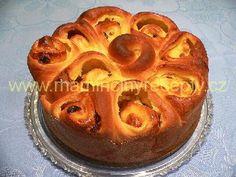 Francouzský máslový koláč