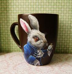 mała sztuka: królik Malaga, Mugs, Tableware, Dinnerware, Tumblers, Tablewares, Mug, Dishes, Place Settings