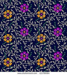 Find Colorful Floral Pattern Background stock images in HD and millions of other royalty-free stock photos, illustrations and vectors in the Shutterstock collection. Flora Vector, Weave Shop, Mughal Paintings, Silhouette Painting, Print Patterns, Floral Patterns, Christmas Scenes, Photoshop Design, Textile Prints