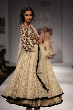 Net Anarkali Style Outfit #indian fashion