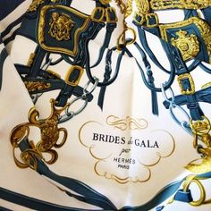 Hermes Brides De Gala Foulard, Foulards Hermes, Foulards De Soie, Gris,  Vestes fbebf097d8f