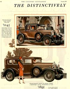 1929 Willys Knight by Don O'Brien Via... | Art Deco | Bloglovin'