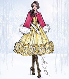 Disney Divas 'Holiday' collection by Hayden Williams: Belle | Flickr - Photo Sharing!