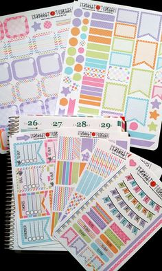 Jan 2017 ECLP colors available, Teal and Gray Colors, Mega Bundle, Fits Erin Condren vertical/horizontal and others, Planner Stickers by LillyTop on Etsy To Do Planner, Erin Condren Life Planner, Happy Planner, Sticker Organization, Planner Organization, Organizing, Decoupage, Printable Planner Stickers, Printables