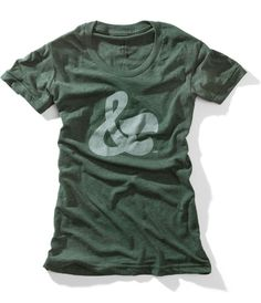 house industries ladies ampersand tee