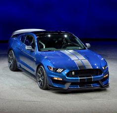 Breathtaking Beauty.  2016 Ford Mustang Shelby GT350R, 2015 Detroit Auto Show