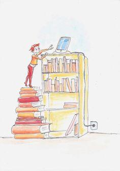 Les livres mènent haut… Virginie Stylo et aquarelle