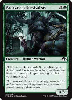 Magic: the Gathering - Backwoods Survivalists (150/205) - Eldritch Moon