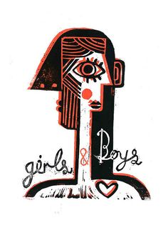 Girls and Boys by Illustration Ben, via Flickr