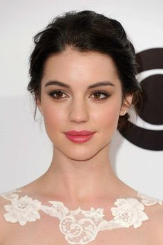 rosy makeup brunette - Google Search
