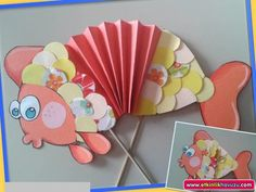accordion fish craft  |   Crafts and Worksheets for Preschool,Toddler and Kindergarten