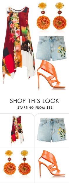 """""""."""" by didiiidia on Polyvore featuring Champagne, Gucci, Bahina and Nicholas Kirkwood"""