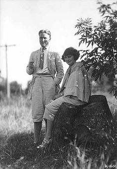 """Zelda And F. Scott Fitzgerald """"So we beat on, boats against the current, borne back ceaselessly into the past. Scott Fitzgerald, The Great Gatsby Ryan O'neal, Wallis Simpson, Brad Pitt, Johnny Depp, Scott And Zelda Fitzgerald, Fitzgerald Quotes, Minnesota Historical Society, Writers And Poets, Jazz Age"""