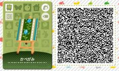 ACNL/ACHHD QR CODE-Blue Rose Wallpaper