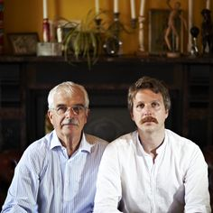 Like father. Like Son.  Movember & Sons. Fine Moustaches.