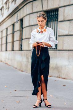 Nyfw Ss16 Street Style - ❤ #street #fashion #snap ❤