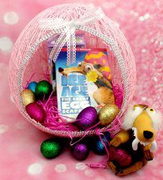String Easter Egg Basket