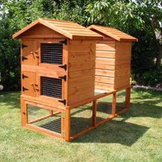 Buy a rabbit hutch online from Garden Woodcraft. We offer a range of handmade, wooden rabbit hutches ideal for rabbits, ferrets and guinea pigs! Outdoor Chairs, Outdoor Furniture Sets, Outdoor Decor, Rabbit Hutches, Rabbit Hutch For Sale, Ferret Cage, Bunny Cages, Wooden Rabbit, Tower Garden