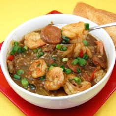creole style shrimp and sausage gumbo