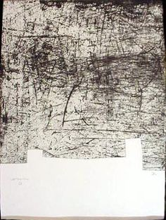 Artist: Eduardo Chillida Title: Une Helene de Vent 3 Year: 1998 Medium: Etching with Aquatint on Paperki Paper Abstract Drawings, Abstract Art, Etching Prints, Organic Art, Black And White Painting, Print Artist, Les Oeuvres, Printmaking, Photo Art