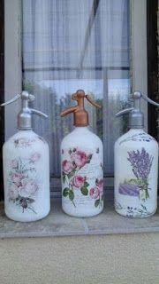 Curso gratis recicla botellas de jabón líquido y decora con decoupage ~ lodijoella