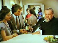 ORSON WELLES DRUNK.   I earnestly suggest you watch this if you have never seen it before.  It just gets funnier and funnier with each viewing.