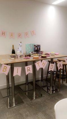 Monday 13th November 2017: happy birthday to Anita! Threw her a unicorn inspired party 🦄