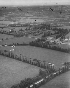 Gliders Near Cherbourg France D-Day Normandy 6 June 1944