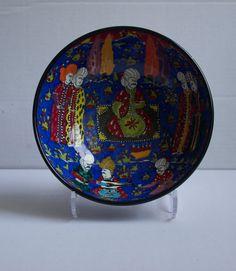 Ottoman Miniature Design Hand Made Ceramic Bowl by ChezGalip