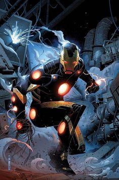 Iron Man by Jim Cheung. Cheung just kills it every time. Amazing.