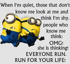 If you are search for Top Best Funny Minions Quotes and Pictures you've come to the right place. We have 17 images about Top Best Funny Minions Quotes and Pictures. Funny Minion Memes, Minions Quotes, Funny Jokes, Minion Humor, Minion Sayings, Hilarious Sayings, Minions Images, Mom Jokes, Minion Birthday Quotes
