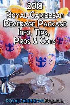2018 Royal Caribbean Beverage Package Info, Tips, Pros & Cons | Royal Caribbean Blog
