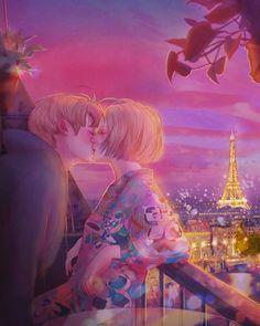 Hyocheon Jeong ilustraciones amor 17
