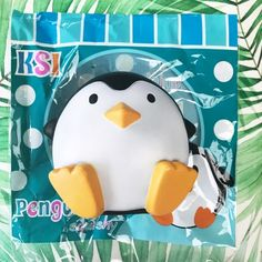 rare Jumbo Penguin squishy ~ super soft and squishy ~ scented