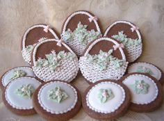decorated cookies.   Recipes and decorating tutorial.