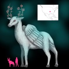 A Book of Creatures | A Complete Guide to Entities of Myth, Legend, and Folklore Albino Deer, Legendary Creature, Folklore, Supernatural, Wings, Books, Mythological Creatures, Art, Art Background