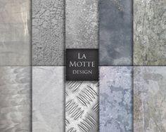 metal digital paper metallic digital paper by Lamottedesign