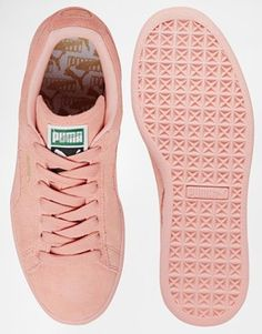 puma suede mono iced rose pastel
