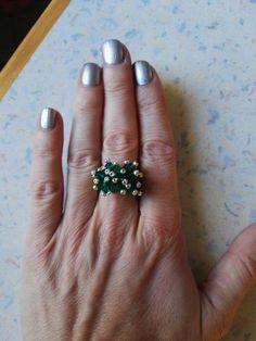 #miyuki #ring #peyote Engagement Rings, Jewelry, Jewelery, Jewellery Making, Enagement Rings, Engagement Ring, Jewlery, Jewels, Diamond Engagement Rings