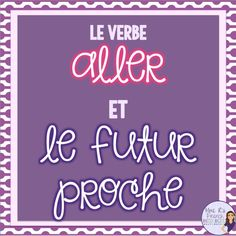 Want a fun new way to practice verb conjugation? These DIGITAL TASK CARDS are a great way to practice the verb aller using the futur proche. They are self-checking, easy-to-use, and perfect for fast finishers or as a quiz. Click here to see more!