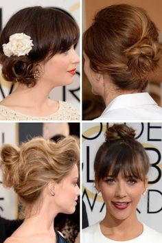 The hair trends to try from the Golden Globes 2014