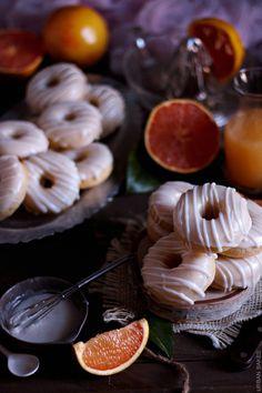 Baked Grapefruit Donuts  #FlGrapefruit #CleverGirls