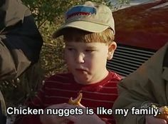 chicken nuggets love 4eva