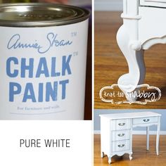 Pure White Chalk Paint® | Knot Too Shabby Furnishings