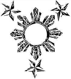 Only the best free Filipino Sun Tribal Tattoo Designs tattoo's you can find online! Filipino Sun Tribal Tattoo Designs tattoo's to print off and take to your tattoo artist. Tribal Tattoo Designs, Tattoo Tribal, Filipino Tribal Tattoos, Tribal Shoulder Tattoos, Polynesian Tattoos, Polynesian Designs, Samoan Tribal, Polynesian Tribal, Hawaiian Tribal