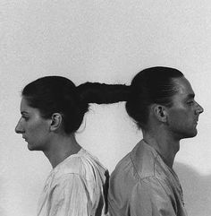 Marina Abramovich, relation in time, 1977