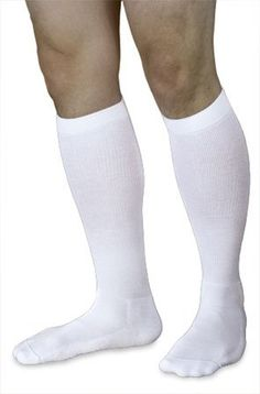 Sigvaris 602CMLM00 18-25mmHg Mens Closed Toe Knee High Compression Sock, Medium & Long, White >>> Be sure to check out this awesome product.
